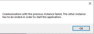 eM Client error msg